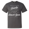 Travel Quote T-Shirt Beach Goer Gray