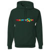 Travel Themed Hoodie: Travels R Us Green