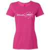 Travel Themed T-Shirt: Wander-MUST Ladies Pink