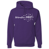 Travel Themed Hoodie: Wander-MUST Purple