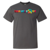 Travel Themed T Shirt: Travels R Us Dark Gray