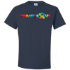 Travel Themed T Shirt: Travels R Us Navy Blue