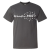 Travel Themed T-Shirt: Wander-MUST Gray