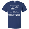 Travel Quote T-Shirt Beach Goer Royal Blue