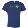 Travel Themed T Shirt: Travels R Us Royal Blue