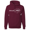 Travel Themed Hoodie: Wander-MUST Maroon