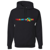 Travel Themed Hoodie: Travels R Us Black