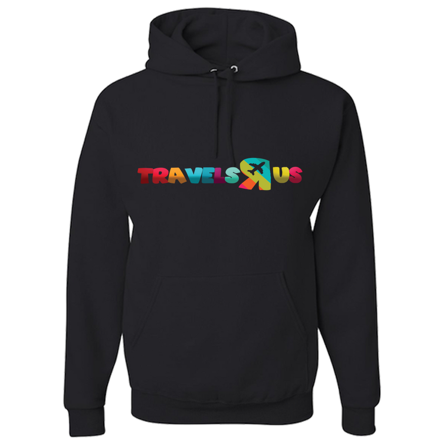 Travel Themed Hoodie: Travels R Us Royal Blue