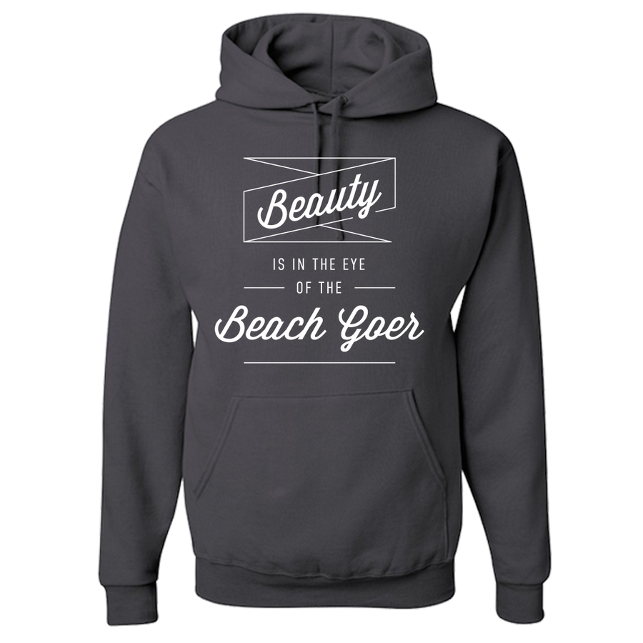 Travel Themed Hoodie: Beach Goer Black