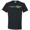 Travel Themed T Shirt: Travels R Us Black