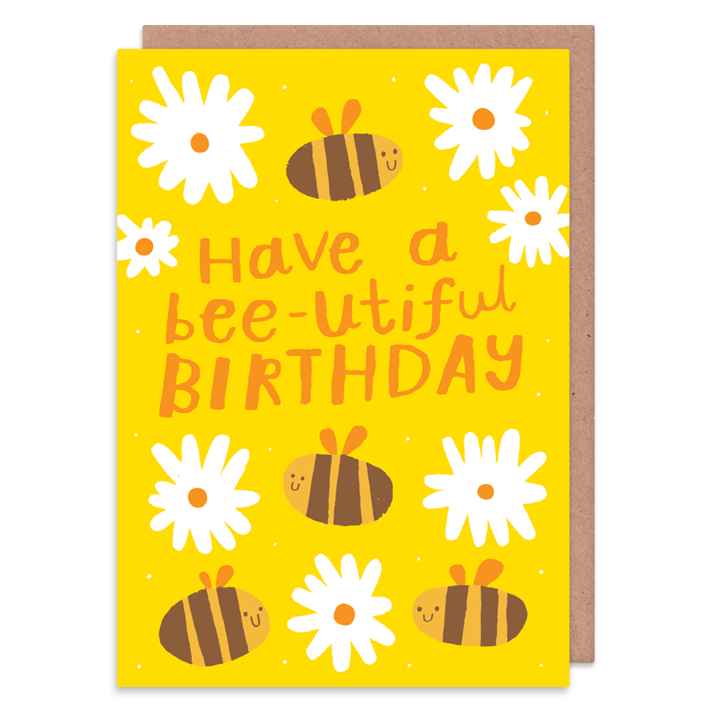 Bee-Utiful Birthday Card by Nikki Miles - Whale and Bird