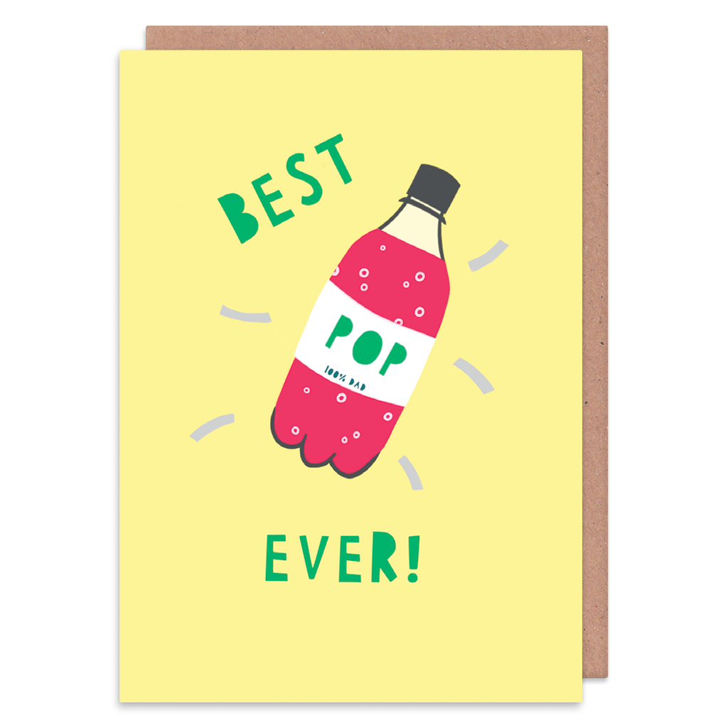 Best Pop Ever Greeting Card by Zoe Spry - Whale and Bird