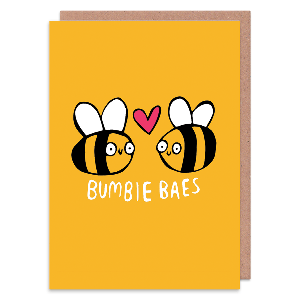 Bumble Baes Greeting Card by Katie Abey - Whale and Bird