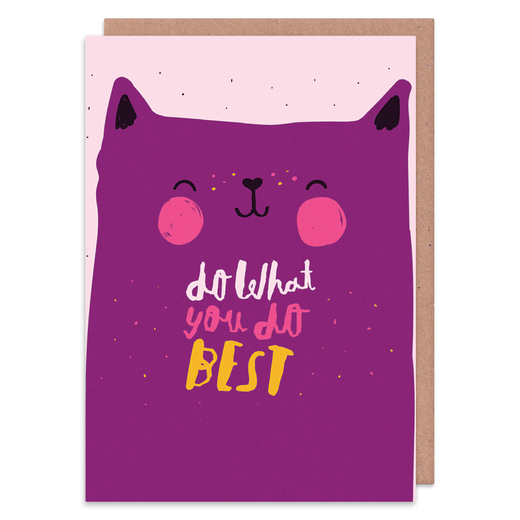 Do What You Do Best Greeting Card by Nikki Miles - Whale and Bird