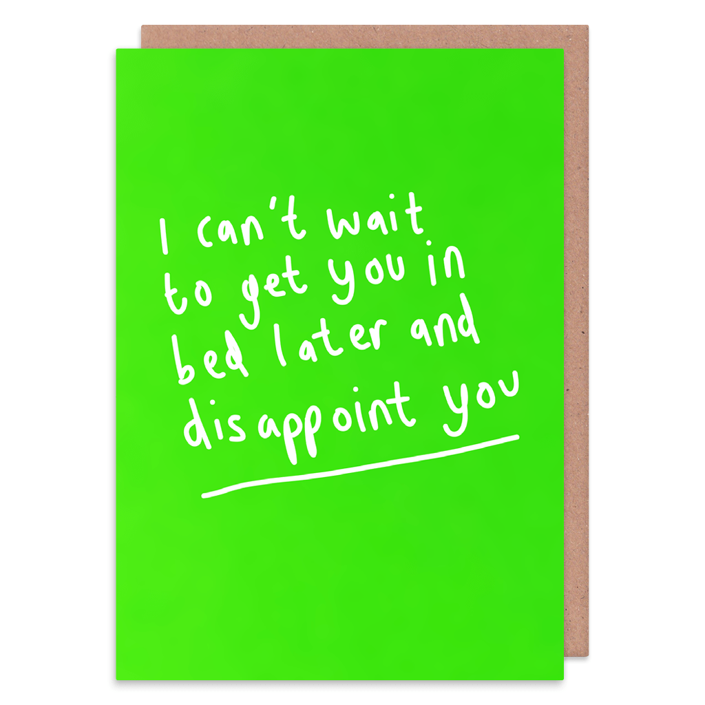 Get You In Bed Later And Disappoint you Greeting Card by George The Cardmaker - Whale and Bird