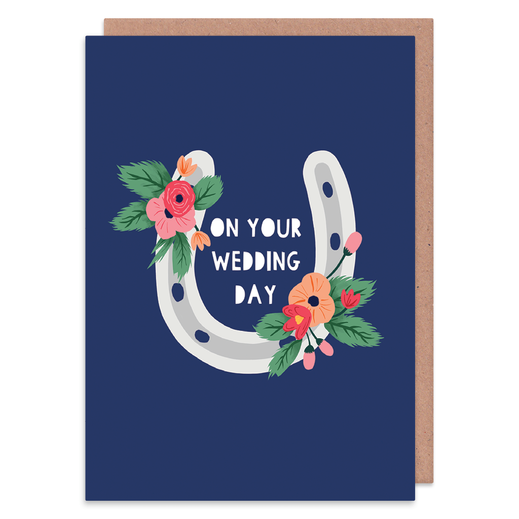 Good Luck On Your Wedding Day Wedding Card by Zoe Spry - Whale and Bird