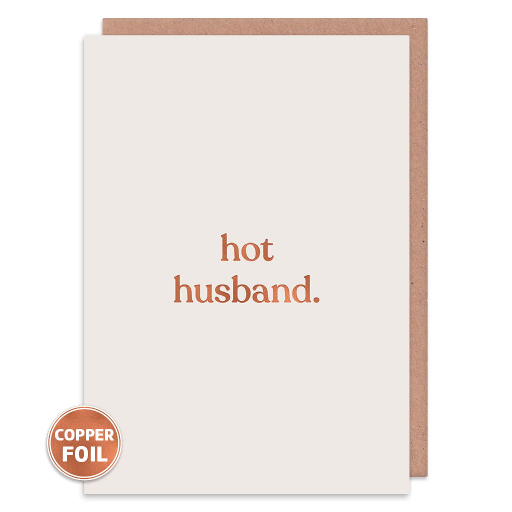 Hot Husband Greeting Card by Amy Wicks - Whale and Bird