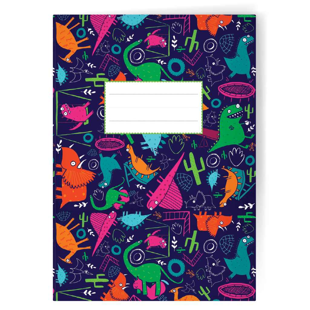 Jurassic Park A5 Notebook by Katie Abey - Whale and Bird