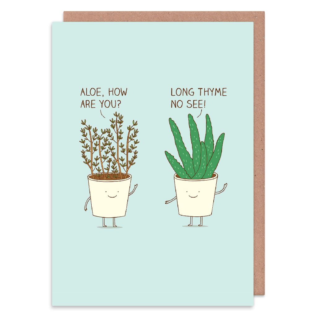 Long Thyme No See Greeting Card by Milkyprint - Whale and Bird