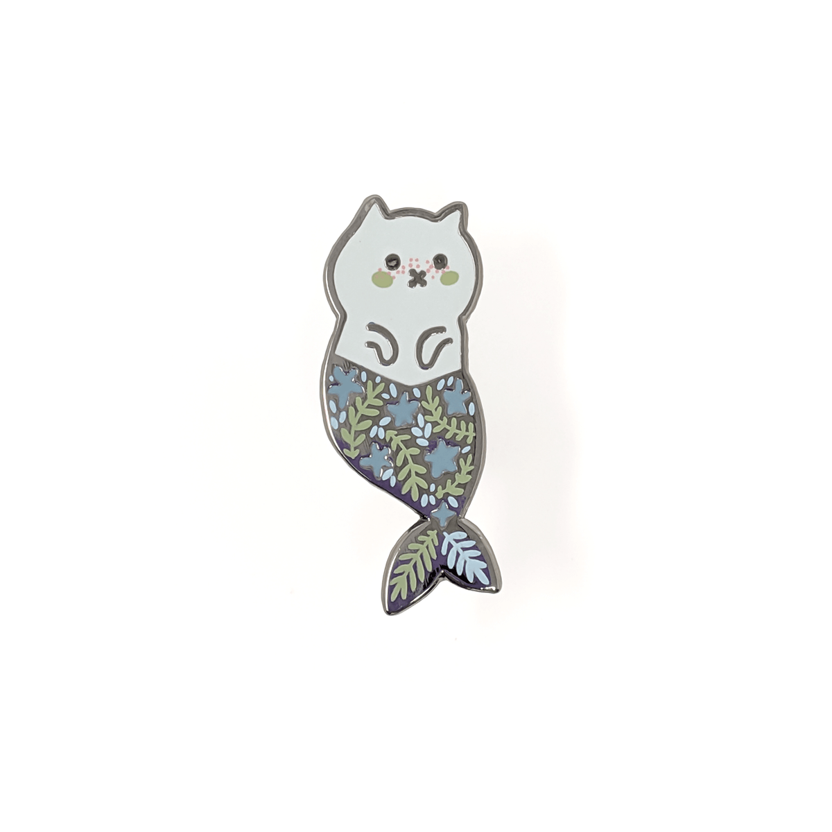 SECONDS SALE! Mercat Enamel Pin by Anna Alekseeva - Whale and Bird