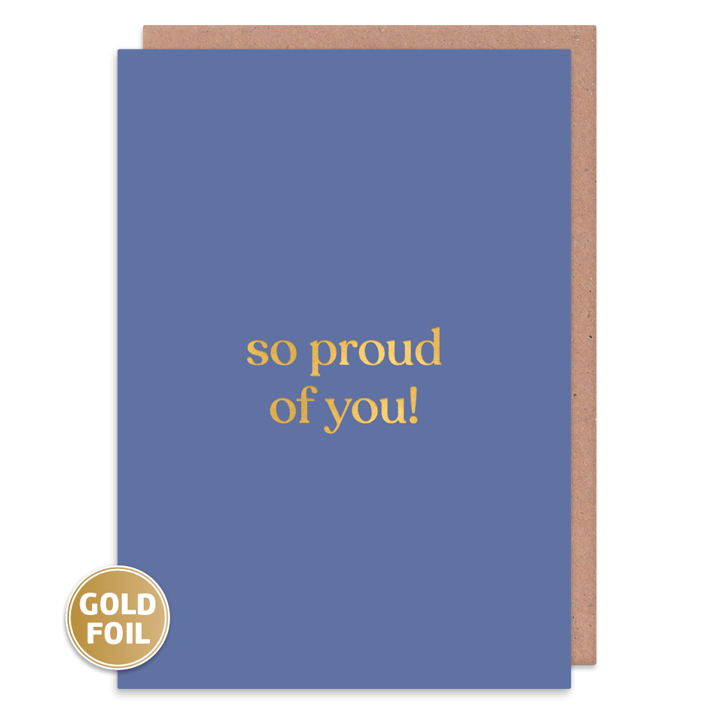 So Proud Of You Congratulations Card by Amy Wicks - Whale and Bird