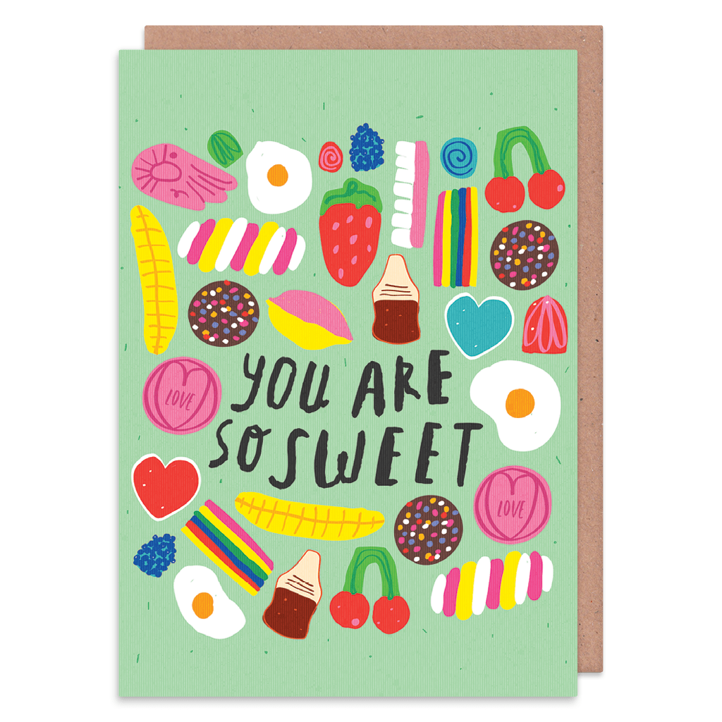 You Are So Sweet Greeting Card by Nikki Miles - Whale and Bird