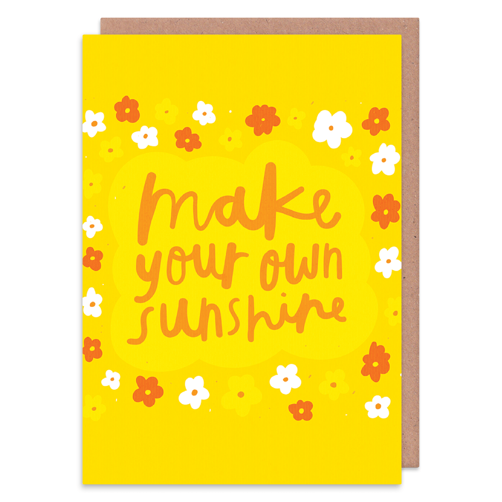 Make Your Own Sunshine Greeting Card by Nikki Miles - Whale and Bird