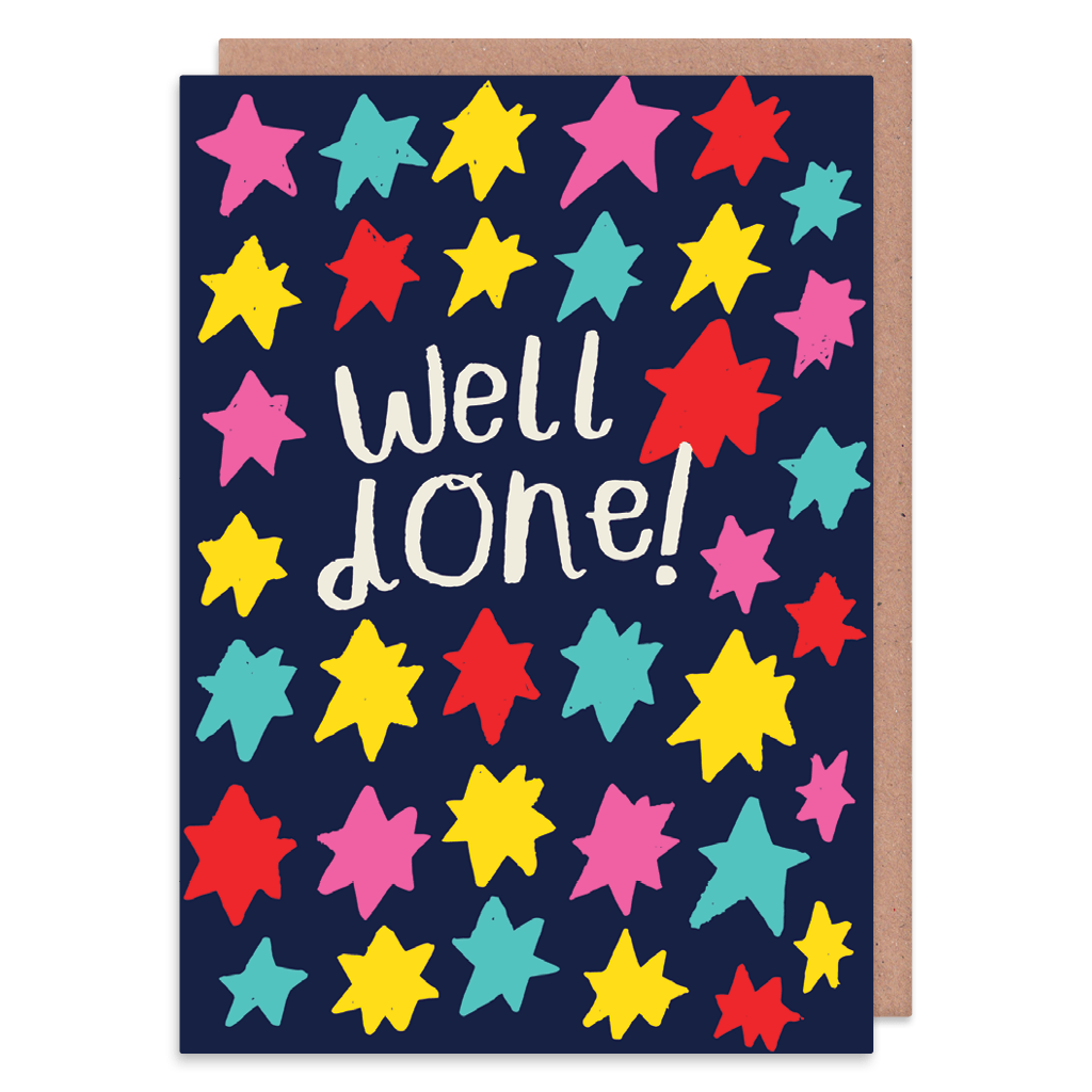 Well Done Stars Greeting Card by Nikki Miles - Whale and Bird