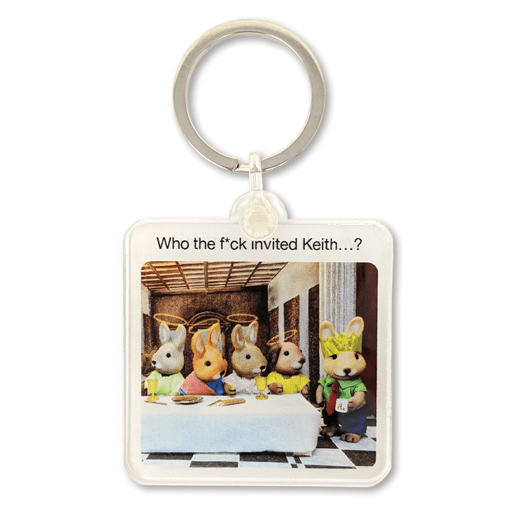 Who The Fuck Invited Keith Keyring by forest fr1ends - Whale and Bird