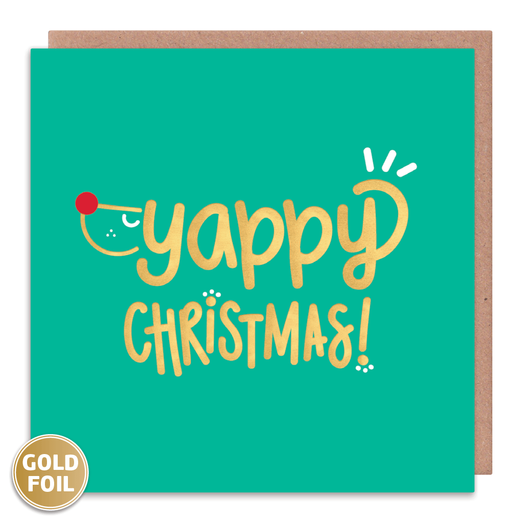 Yappy Christmas! Christmas Card by Squaire Cards - Whale and Bird
