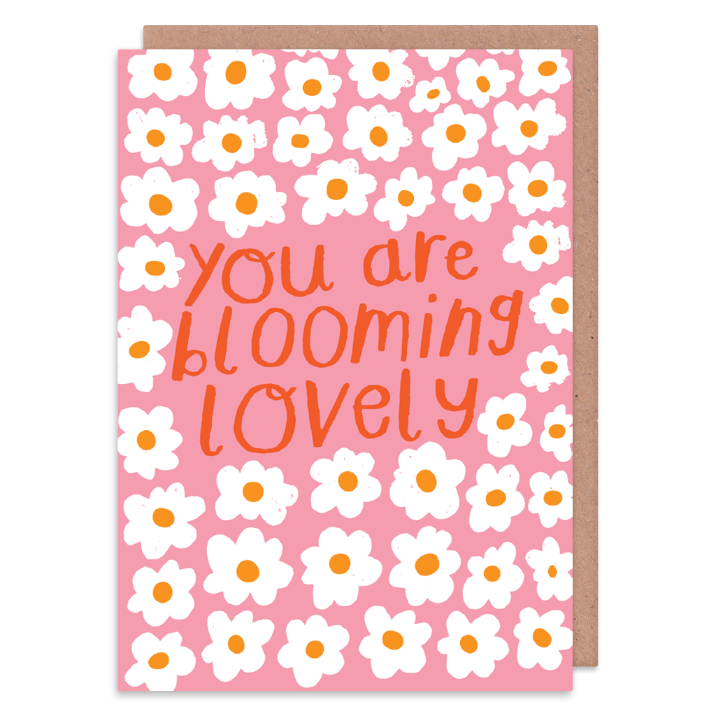 You Are Blooming Lovely Greeting Card by Nikki Miles - Whale and Bird