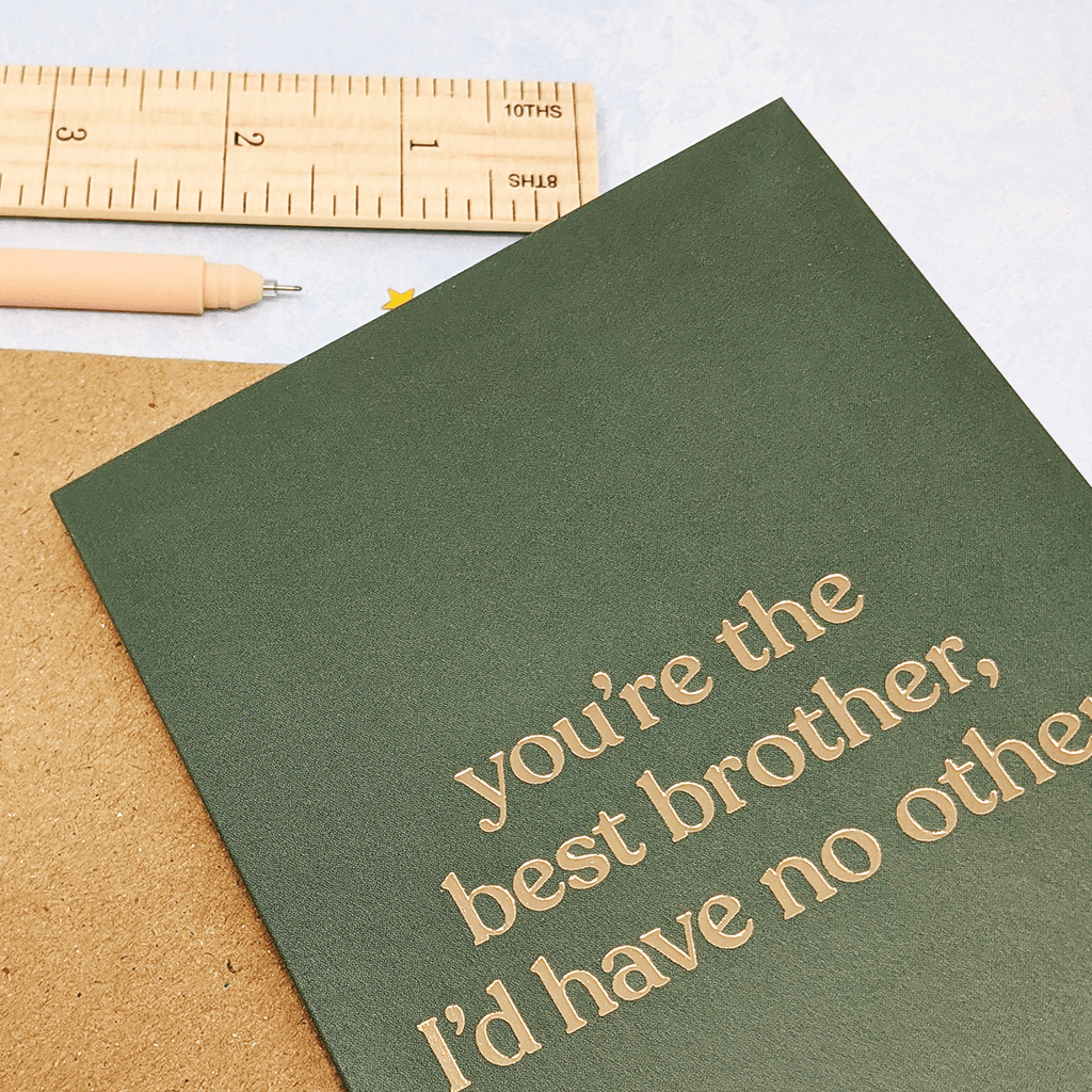 You're The Best Brother Greeting Card by Amy Wicks - Whale and Bird