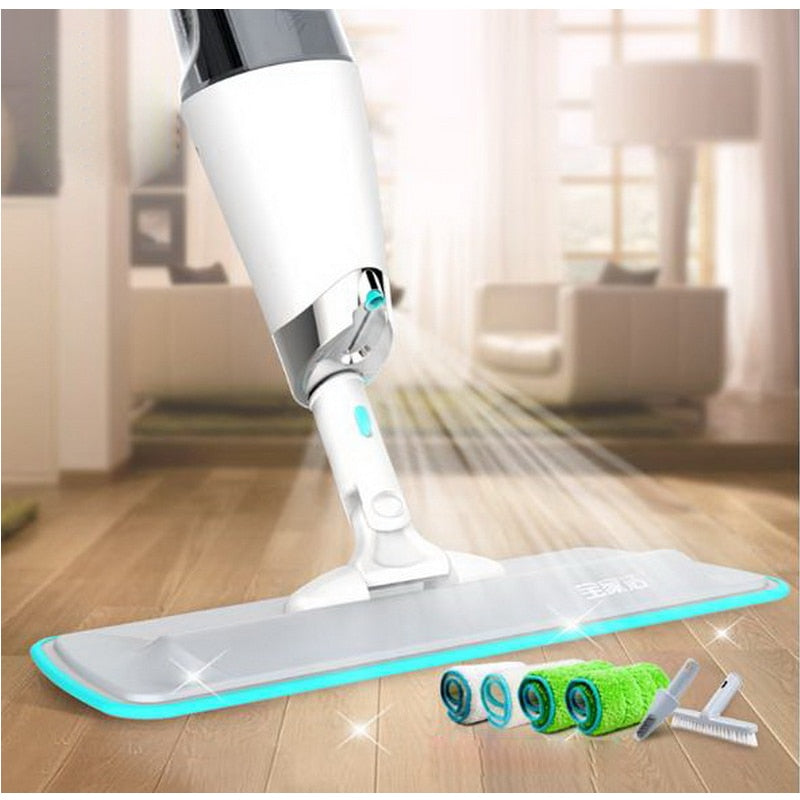 Flat spray mop -360 Degree Handle