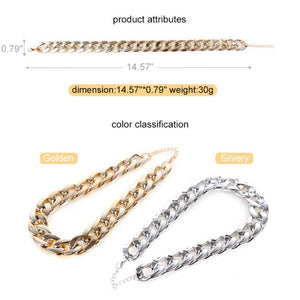 Glittering Boss-Look Cuban Link Pets Collar