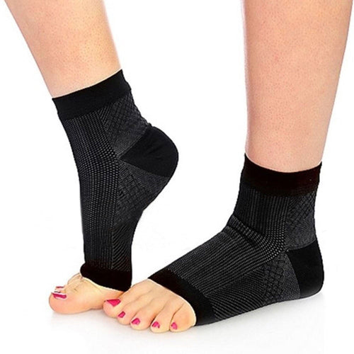 Open Toe Compression Socks