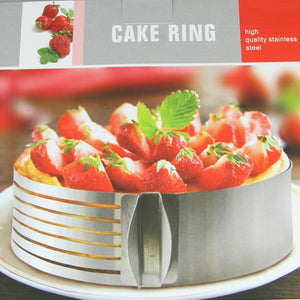 Adjustable Cake Slicer Mold Cutter Round Shape Bread Cake slicer