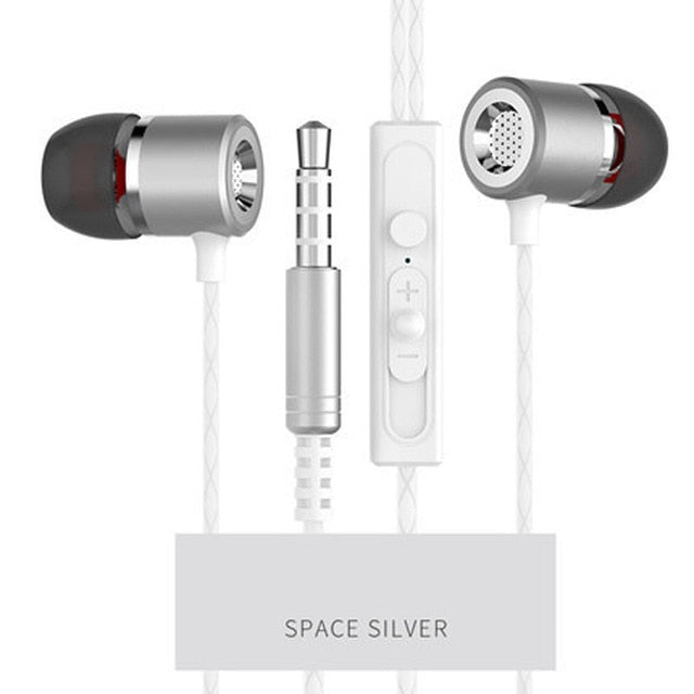 ListenEz - Clear Bass Earphones with Microphone