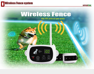 Rechargeable Wireless 1/2/3 Dog Fence Training System