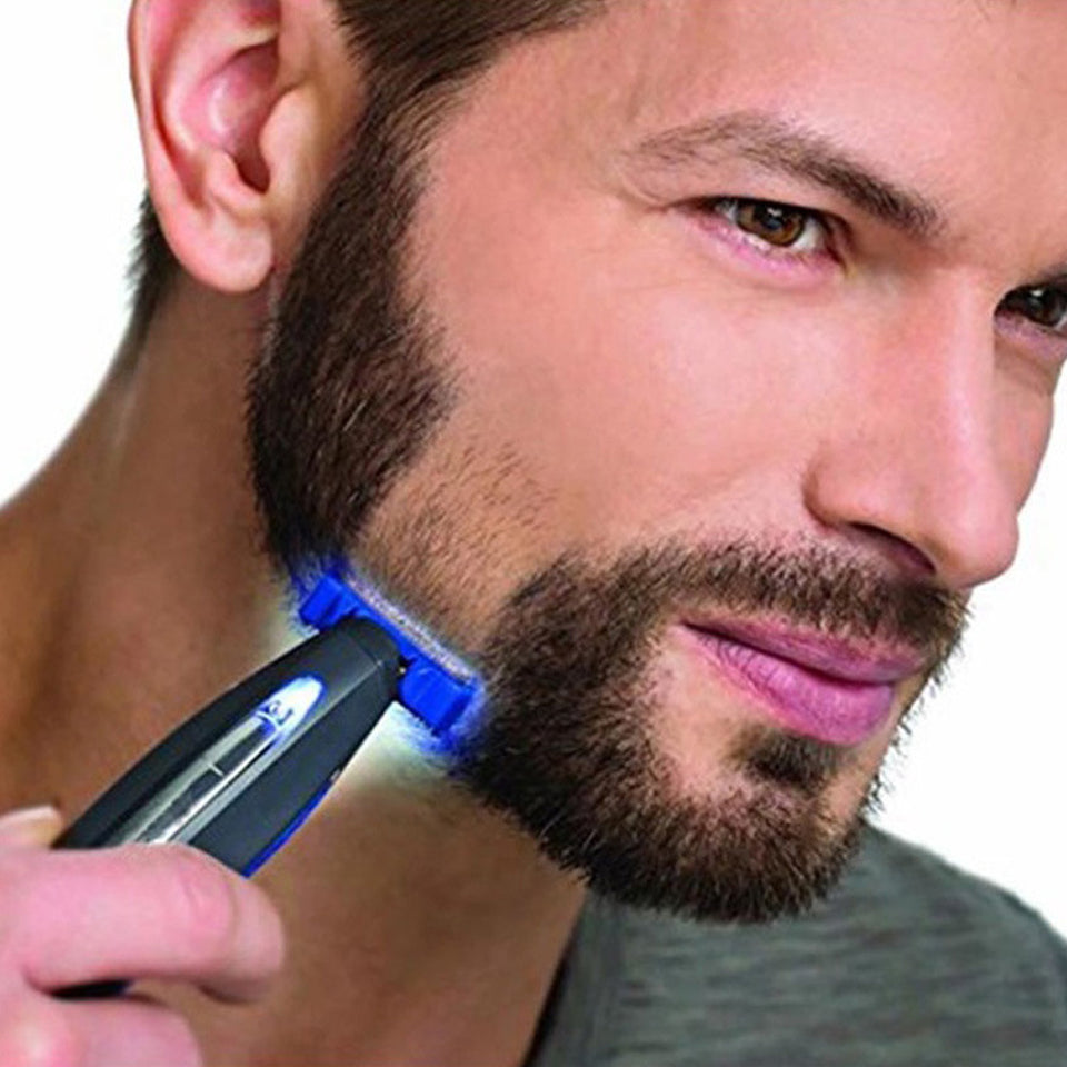 Rechargeable Hair Cleaning Shaver Trimmer and Edger Hyper-Advanced Smart Razor For Men
