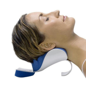 Traction Pillow Relaxer back and relax Neck Relief Muscle Pain Shoulder