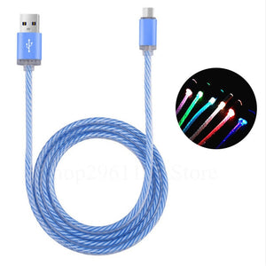Colorful Glowing USB Fast Charging Light Cable