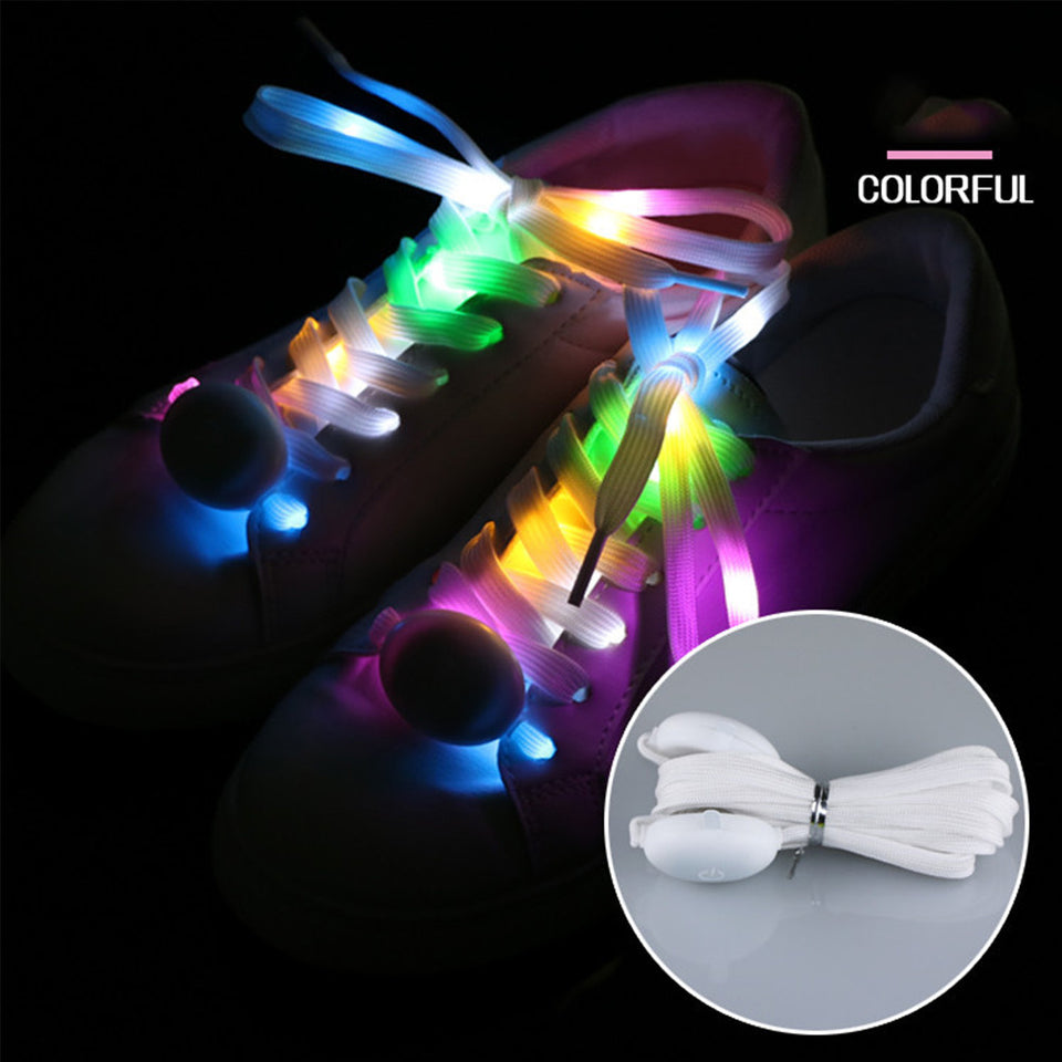 Shinning Colorful LED Shoelaces