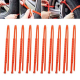 10 PCS Car Tire Anti-skid Chain Emergency Tire Anti-slip Chain For Sand Road Snow Road