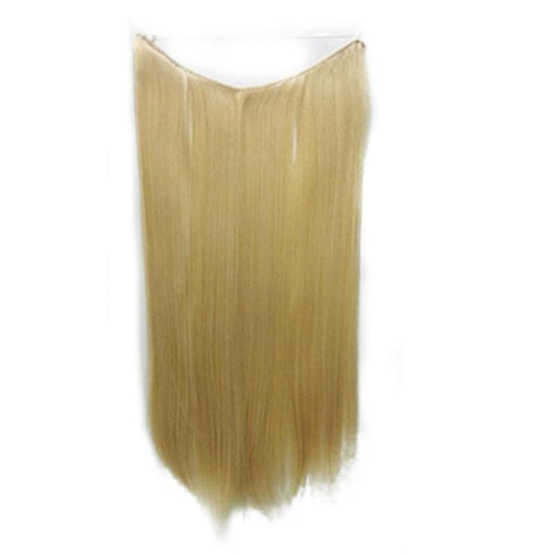Invisible Hidden Halo Straight Hair Extensions