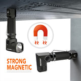 MAGNETIC 90° TWIST FLASHLIGHT