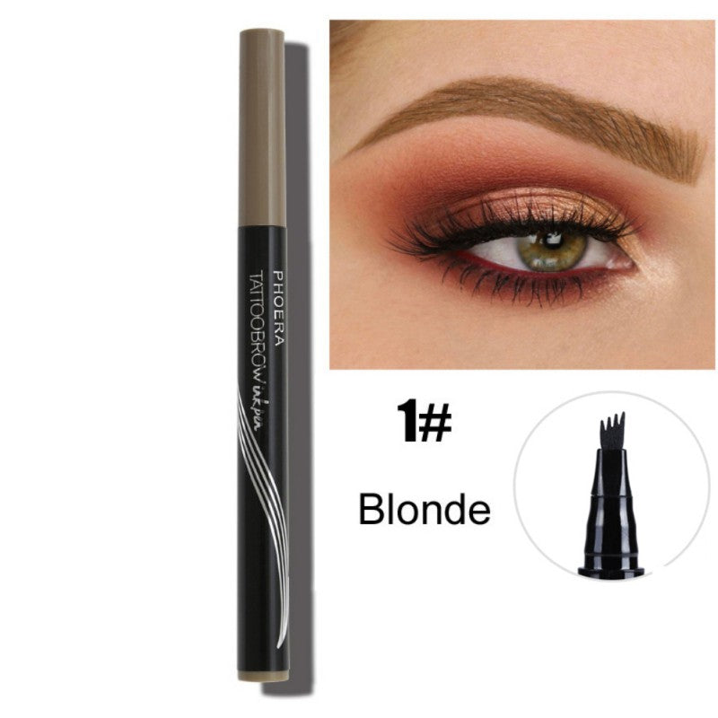 Microblading Eyebrow Pen Waterproof Sketch Makeup Cosmetic Tools