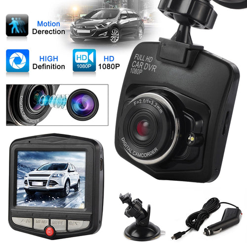 Full 1080p HD DVR Dash Camera With Night Vision