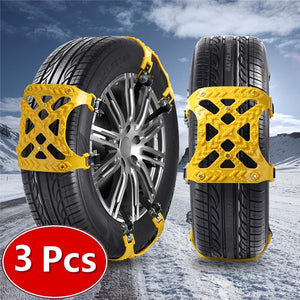 3x TPU Safety Snow Tire Chains