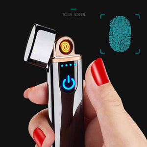 Electronic USB charging lighter rechargeable