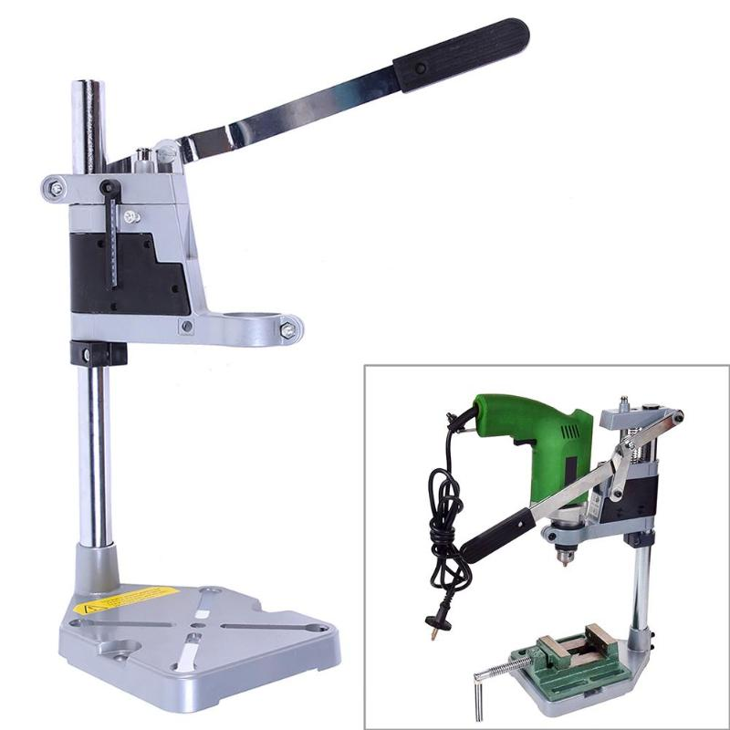 Double-head Electric Drill Holding Stand Clamp for Woodworking Tools